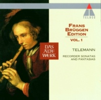 Frans Bruggen, Anner Bylsma & Gustav Leonhardt Telemann : Recorder Sonata in C major TWV41, C5 : II Larghetto