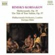 デイヴィッド・ノーラン(ヴァイオリン)/フィルハーモニア管弦楽団/エンリケ・バティス(指揮) リムスキー=コルサコフ: 交響組曲「シェヘラザード」 - バグダッドの祭りほか