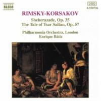 デイヴィッド・ノーラン(ヴァイオリン)/フィルハーモニア管弦楽団/エンリケ・バティス(指揮) リムスキー=コルサコフ: 交響組曲「シェヘラザード」 - カレンダー王子の物語