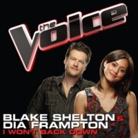 Blake Shelton/Dia Frampton I Won't Back Down [The Voice Performance]