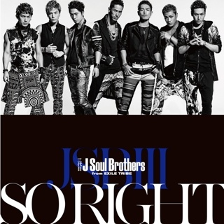 SO RIGHT / �O��� J Soul Brothers from EXILE TRIBE
