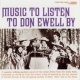 Don Ewell Music To Listen To Don Ewell By