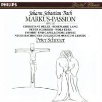 Wolf Euba J.S. Bach: St. Marc Passion, BWV 247 - Reconstruction: Diethard Hellmann / Teil 1 (Vor der Predigt) - Recitative: Und am ersten Tag der süßen Brote