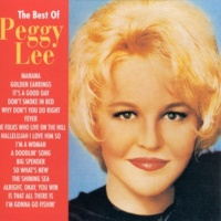Peggy Lee Golden Earrings