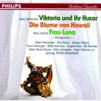 Willy Hofmann/フランツ・フェーリンガー/Chor/大オペレッタ管弦楽団/フランツ・マルザレク Abraham: Die Blume von Hawaii - Bin nur ein Jonny