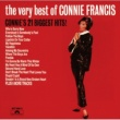 Connie Francis The Very Best Of Connie Francis - Connie 21 Biggest Hits
