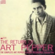 Art Pepper The Return Of Art Pepper