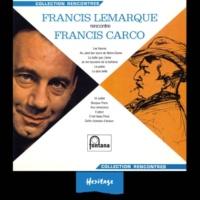 Francis Lemarque Bonjour Paris