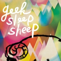 geek sleep sheep hitsuji