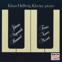 Klaus Hellwig F.X.W. Mozart: Variations sur une Romance de Méhul, Op.23
