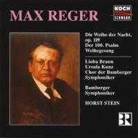 リオバ・ブラウン/バンベルク交響楽団/ホルスト・シュタイン/Chor der Bamberger Symphoniker Reger: Die Weihe der Nacht, Op. 119
