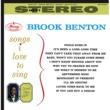 ブルック・ベントン Songs I Love To Sing