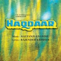 Asha Bhosle/Amit Kumar O Diwane [Haqdaar / Soundtrack Version]