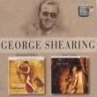 George Shearing Burnished Brass/Satin Brass