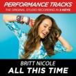 Britt Nicole All This Time (Performance Tracks) - EP
