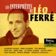 Various Artists Les Interprètes De Léo Ferré