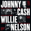 Johnny Cash/Willie Nelson Don't Take Your Guns To Town [Live]