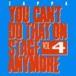 Frank Zappa You Can't Do That On Stage Anymore, Vol. 4