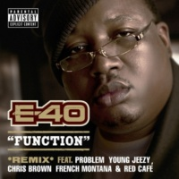 E-40 Function (Remix) [feat. Problem; Young Jeezy; Chris Brown; French Montana; Red Café]