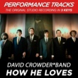 David Crowder*Band How He Loves (Performance Tracks) - EP