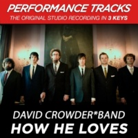 David Crowder*Band How He Loves (Medium Key Performance Track Without Background Vocals)