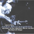 John McLaughlin The Heart of Things: Live in Paris