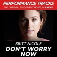 Britt Nicole Don't Worry Now