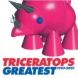 TRICERATOPS GOING TO THE MOON