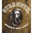 abingdon boys school STRENGTH.