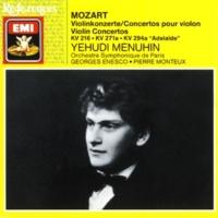 Yehudi Menuhin/Orchestre Symphonique de Paris/Pierre Monteux Violin Concerto in D 'Adelaide' KAnh294a/C14.05 [by Marius Casadesus] (1990 Remastered Version): III. Allegro (cadenza: Hindemith)