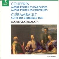 Marie-Claire Alain Clérambault : Suite du deuxième ton : I Plein jeu