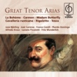 Various Artists Great Tenor Arias