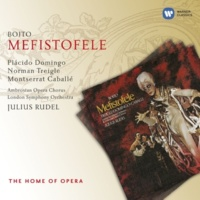 Norman Treigle/Placido Domingo/Josella Ligi/Delia Wallis/Leslie Fyson/Ambrosian Opera Chorus/Wandsworth School Boys' Choir/London Symphony Orchestra/Julius Rudel Mefistofele (1997 Remastered Version), Act IV: Forma ideal purissima della bellezza eternal (Faust/Elena/Mefistofele/Pantalis/Nereo/Coretidi)