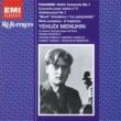 Yehudi Menuhin/Orchestre Symphonique de Paris/Pierre Monteux Violin Concerto No. 1 in D major Op. 6 (1996 Remastered Version): II. Adagio espressivo