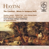 Heather Harper/Pamela Bowden/Alexander Young/John Shirley-Quirk/King's College Choir, Cambridge/English Chamber Orchestra/Emanuel Hurwitz/Sir Andrew Davis/James Blades/Sir David Willcocks Mass No. 10 in C 'Missa in tempore belli' (Paukenmesse) H XXII:9 (2006 Remastered Version): Sanctus (alto, chorus, tenor)