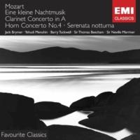 Jack Brymer/Royal Philharmonic Orchestra/Sir Thomas Beecham Clarinet Concerto in A K622 (1960 Remastered Version): II. Adagio