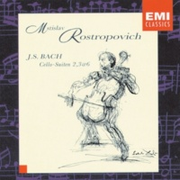 Mstislav Rostropovich Cello Suite No. 2 in D Minor, BWV 1008: V. Menuet I