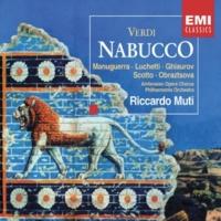 """Philharmonia Orchestra Nabucco, Act 4: """"Va! la palma del martirio"""" (Zaccaria)"""