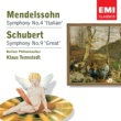 Klaus Tennstedt Mendelssohn: Symphony No.4 'Italian' - Schubert: Symphony No.9 'Great'