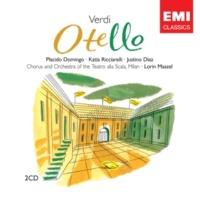 Placido Domingo/Justino Diaz/Coro del Teatro alla Scala, Milano/Orchestra del Teatro alla Scala, Milano/Lorin Maazel Otello, Act III, Scene 6: Come la ucciderò? (Otello/Jago/Ciprioti)