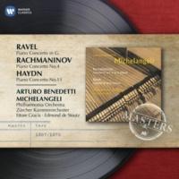 Arturo Benedetti Michelangeli/Philharmonia Orchestra/Ettore Gracis Piano Concerto No. 4 in G minor Op. 40 (1999 Remastered Version): III. Allegro vivace