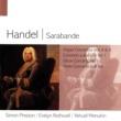 Yehudi Menuhin/Simon Preston/Evelyn Rothwell Handel Sarabande
