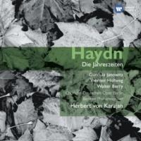 Werner Hollweg/Berliner Philharmoniker/Herbert von Karajan Die Jahreszeiten, Hob XXI:3 (1988 Remastered Version), Der Winter: Rezitativ: Abgesponnen ist der Flachs (Lukas)
