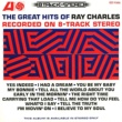 Ray Charles The Great Hits Of Ray Charles Recorded On 8-Track Stereo