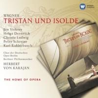 """Herbert von Karajan Tristan und Isolde,  Act 2: """"O sink, hernieder, Nacht der Liebe"""" (Isolde, Tristan, Brangäne)"""