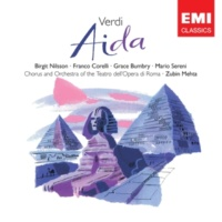 Grace Bumbry/Birgit Nilsson/Franco Corelli/Orchestra del Teatro dell'Opera, Roma/Zubin Mehta Aida, Act I, Scene 1: Vieni, o diletta' appressati (Amneris, Aida, Radames)
