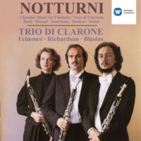 Sabine Meyer/Trio di Clarone/Wolfgang Meyer Two Pieces for Three Instruments (1978): Nr. 2 Allegro