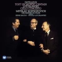 Mstislav Rostropovich/Orchestre de Paris/Serge Baudo Cello Concerto (Tout un monde lointain): I. Enigme [Très libre et flexible]