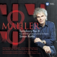 "Sir Simon Rattle Symphony No. 8 in E-Flat Major, ""Symphony of a Thousand"", Part 1: ""Veni creator spiritus"""