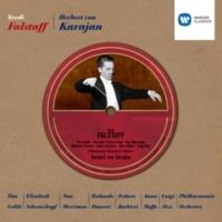 Elisabeth Schwarzkopf/Anna Moffo/Nan Merriman/Fedora Barbieri/Philharmonia Orchestra/Herbert von Karajan Falstaff, Act II, Scene Two: Giunta all'albergo della Giarrettiera